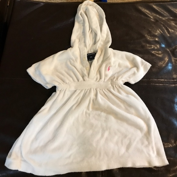 65f37efc71c4c Ralph Lauren Terry Cloth Cover Up. M 592d7b9936d594b0b7064ed9