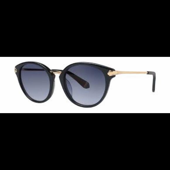 Zac Posen BIBI Sunglasses 50 Tortoise