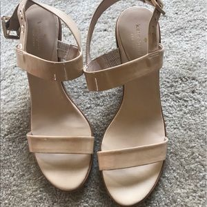 Kate Spade wedges, size 8.5