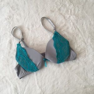 Other - Gray and teal 36B bra
