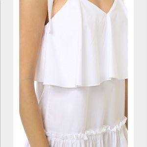 English Factory Dresses - English Factory Woven White Dress