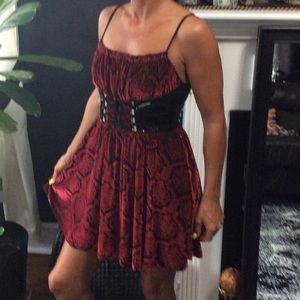 shrine Dresses & Skirts - Shrine hollywood corset dress