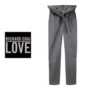 Richard Chai Pants - Richard Chai Love foldover slouchy pants