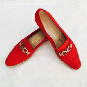 Salvatore Ferragamo Shoes - Salvatore Ferragamo Boutique Espadrille Loafer