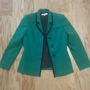 Le Suit Jackets & Blazers - LE SUIT Essentials Women's Green Blazer