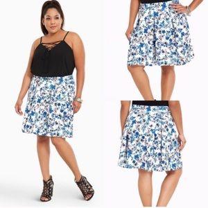 torrid Dresses & Skirts - Torrid Floral Scuba Skater Skirt NWT