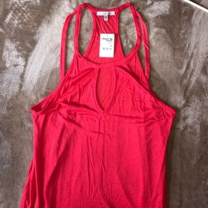 Tops - NEVER WORN W/ TAGS Charlotte Russe keyhole tank