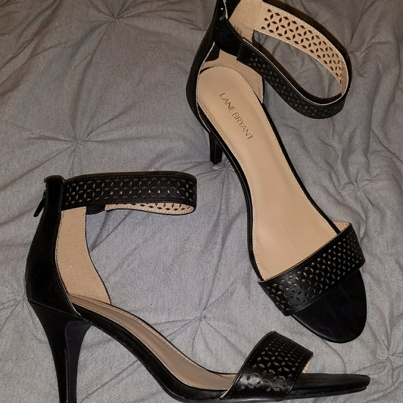 079ee2b80b8 Lane Bryant Shoes - Lane Bryant 12W strappy heels