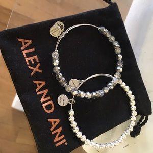 Alex & Ani Jewelry - Alex and Ani vintage rare Swarovski bracelets