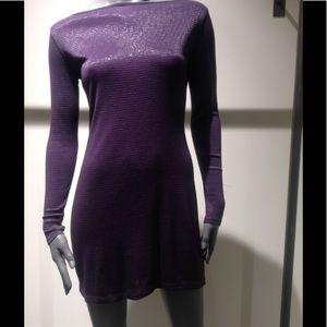 Tops - Purple Mini Dress
