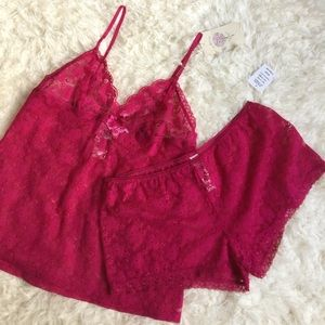 In Bloom By Jonquil Other - NWT [In Bloom By Jonquil] 2 Piece Set in Berry - S