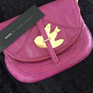Marc by Marc Jacobs Handbags - *SALE*NWT Marc Jacobs Petal to the Metal Pouchette