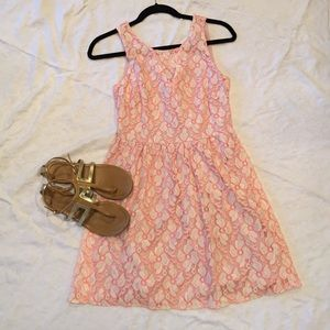 Summery flit n flare dress