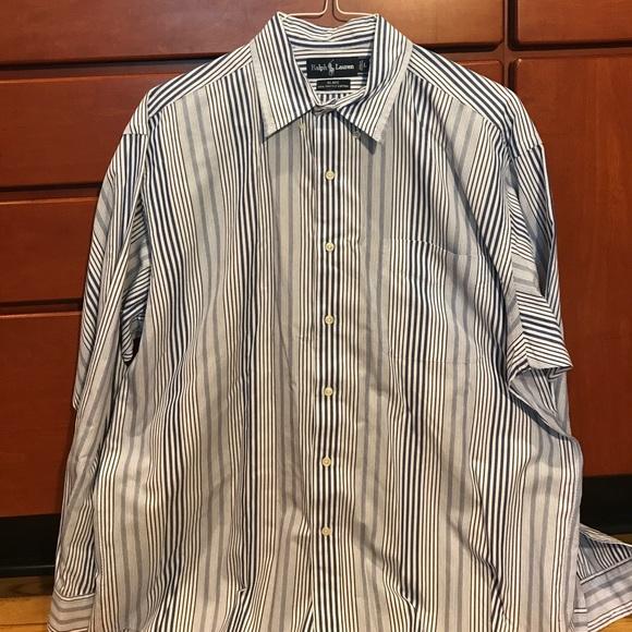 Ralph lauren ralph lauren blake two ply cotton shirt for 2 ply cotton shirts