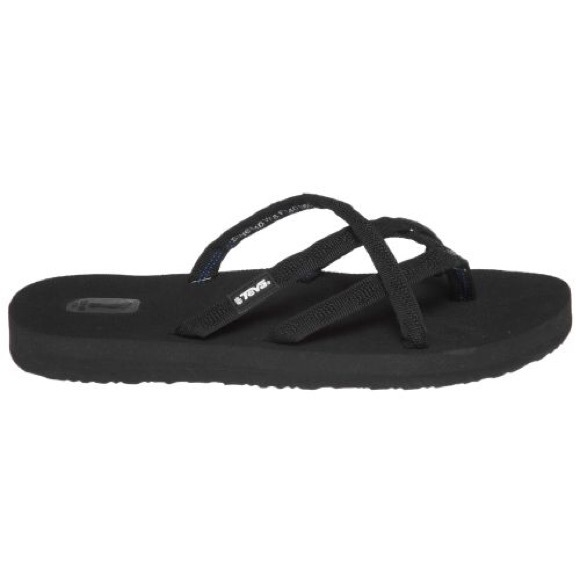 76 Off Teva Shoes - Teva Mush Black Flip Flop Sandals -2965