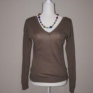 ❤4 FOR $13❤Zara Double V Neck Knit Light Sweater