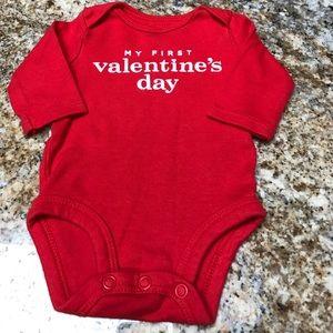 Carter's Other - Valentine's Day onesie. ❤️Excellent Condition❤️