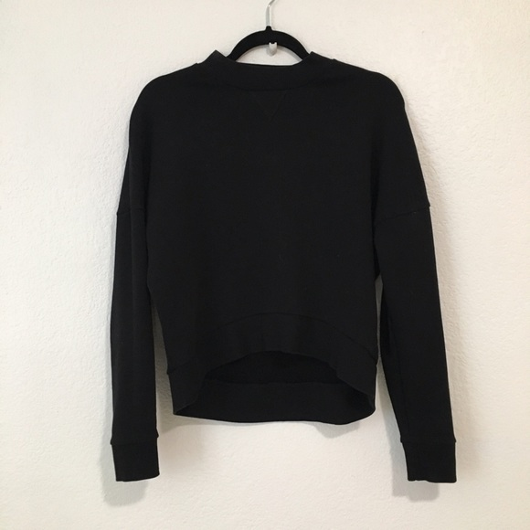 b41a977755c5 COS Tops   Black Sweatshirt   Poshmark