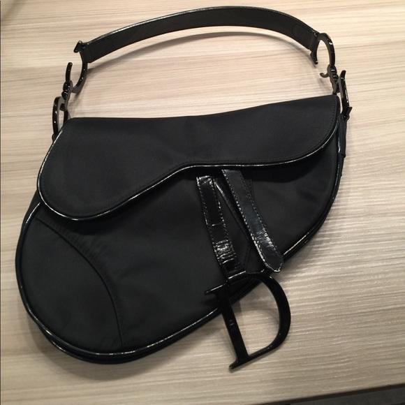 Christian Dior Handbags - Christian Dior D Saddle Bag 👜 e6bfd31701