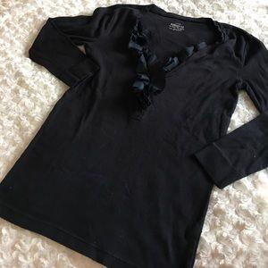 J. Crew Ruffle Shirt