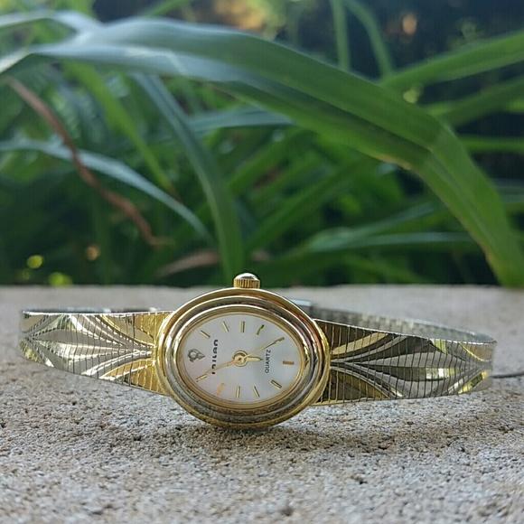 Milan Jewelry - Vintage ladies Milan two-tone watch