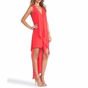 BCBGmaxazria Tara high low dress
