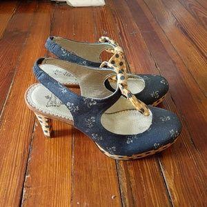 Miss albright 6m bow slingback heel