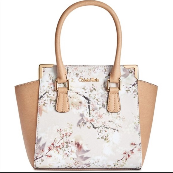 50% Off Calvin Klein Handbags - NWT Calvin Klein Floral Crossbody Bag From Kathyu0026#39;s Closet On ...