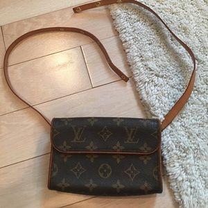 Authentic LV pouch belt bag.
