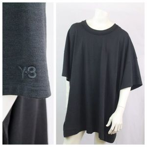 Y-3 Other - Y-3 for Adidas Oversized Black shirt Sz M