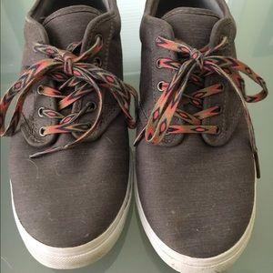 Vans Shoes - Brown Canvas Vans