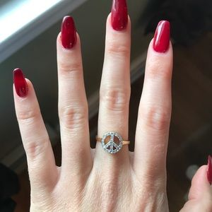 Jewelry - Juicy couture peace sign ring