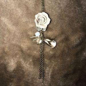 Jewelry - Francesca's Rose Necklace
