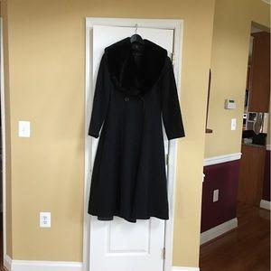 Ada Jackets & Blazers - Full length A-line coat.
