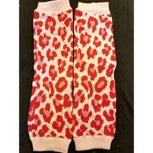 Other - 3 for $10 sale! Pink cheetah print legwarmers