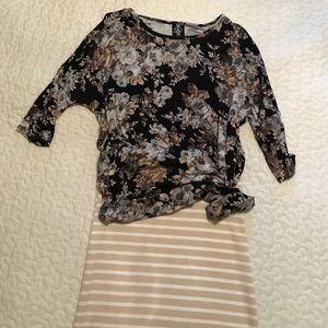 Agnes & Dora Dresses & Skirts - Agnes and Dora Dolman and Pencil skirt