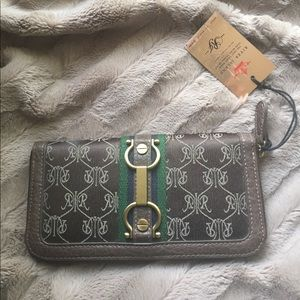 River Island Handbags - River Island Wallet Pocketbook brass hardware