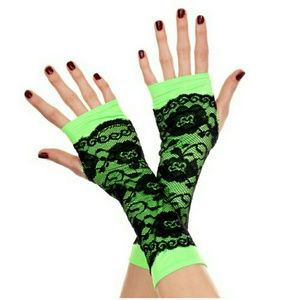 Accessories - Lace Overlay Arm Warmers