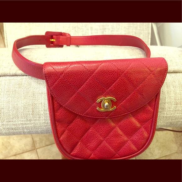 6e30a5e43210b1 CHANEL Handbags - Chanel Vintage waist bag or fanny pack, authentic