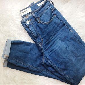PACSUN Super High Rise Skinny Jeans
