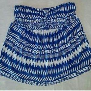 Lane Bryant Tops - lane bryant 14-16 tube top strapless blue cotton