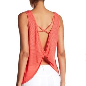 Lush Twist Back Knit Tank