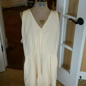 Cream colored romper