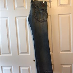 Miss Sixty Denim - Miss Sixty Light Blue Military Accent Jeans, Sz 32