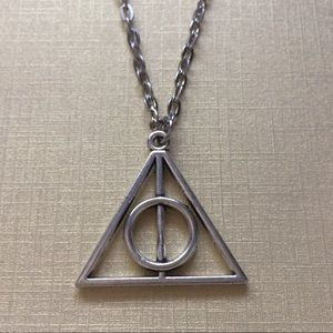 Jewelry - Harry Potter Deathly Hallows Silver Necklace