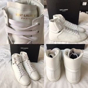 Saint Laurent Shoes - Saint Laurent High Tops
