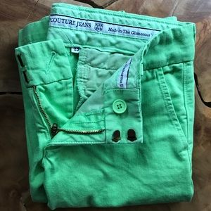 Juicy Couture Pants - 💚🍒 Juicy Couture Kelly Green Pants🍒💚