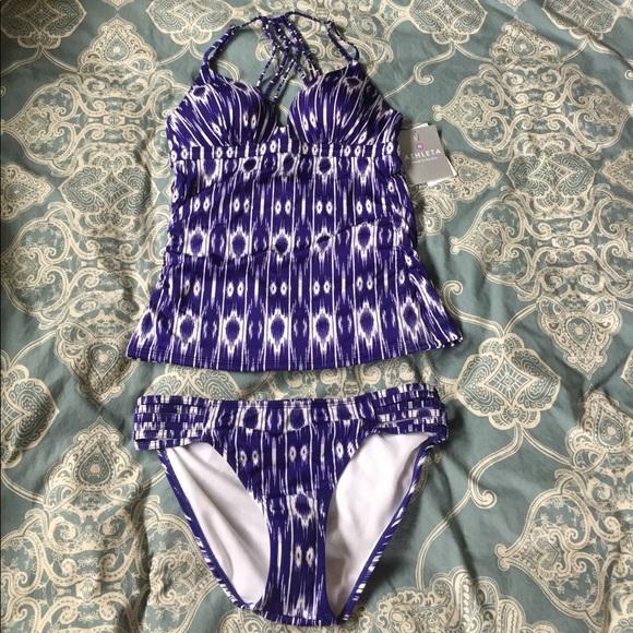 0cd94f0c0e Athleta Swim | Aqualuxe Tankini Suit | Poshmark