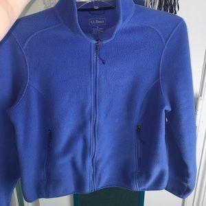 L.L. Bean Fleece Zip-Up Jacket