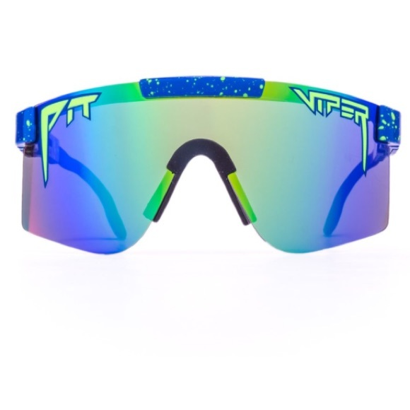 38f4e3b024d Pit Viper THE LEONARDO POLARIZED Sunglasses 90s